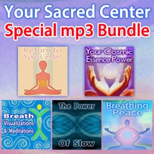Your Sacred Center - bundled mp3 set - checkerboard